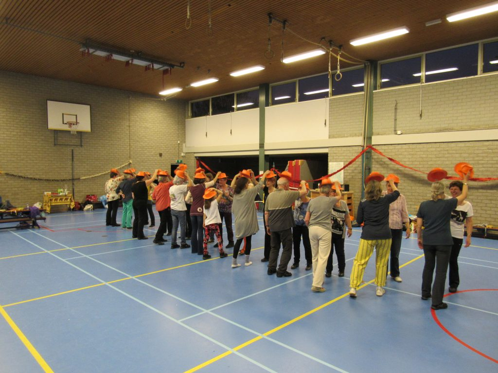 workshop dansen met materialen